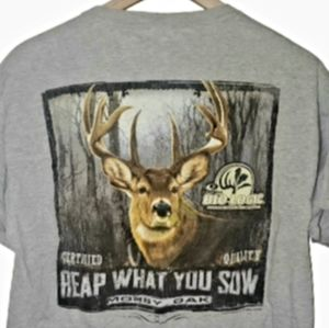 4/$25Mossy Oak Deer Reap What You Sow Hunting Tee